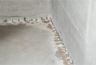 Verpressung Wand